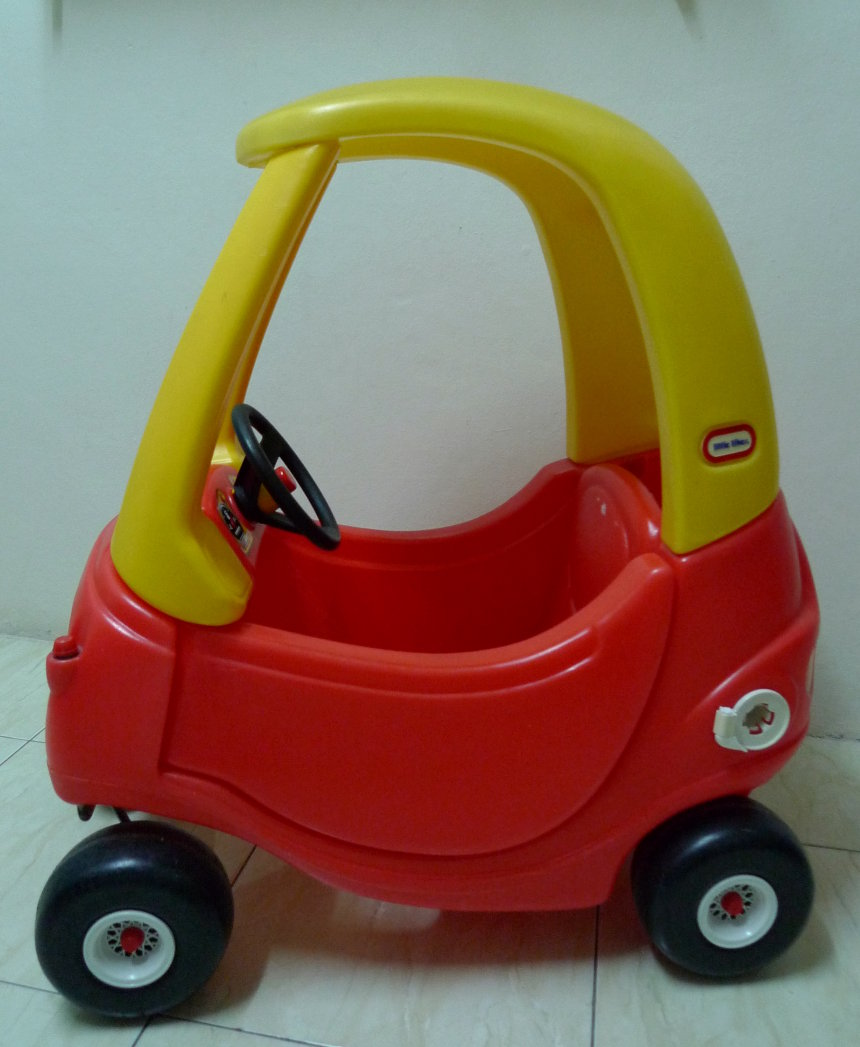 Three Little Birds Closet: Little Tikes Cozy Coupe SOLD
