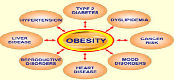 the health risks of overweight and obesity Children and adolescents who are overweight or obese are at increased risk for developing diabetes adults who eat a healthful diet and stay physically active can decrease their risk of a number of adult-onset health conditions and determinants of nutrition, physical activity, and obesity.
