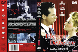 Cover, dvd, caratula: Historia de un detective | 1945 | Murder, My Sweet