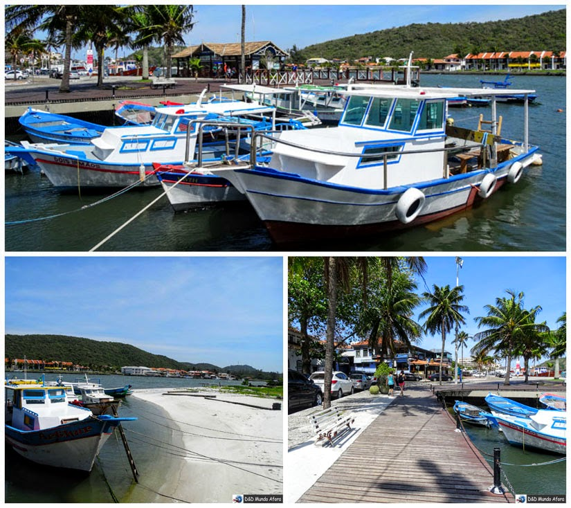 O que fazer em Cabo Frio - Boulervard Canal