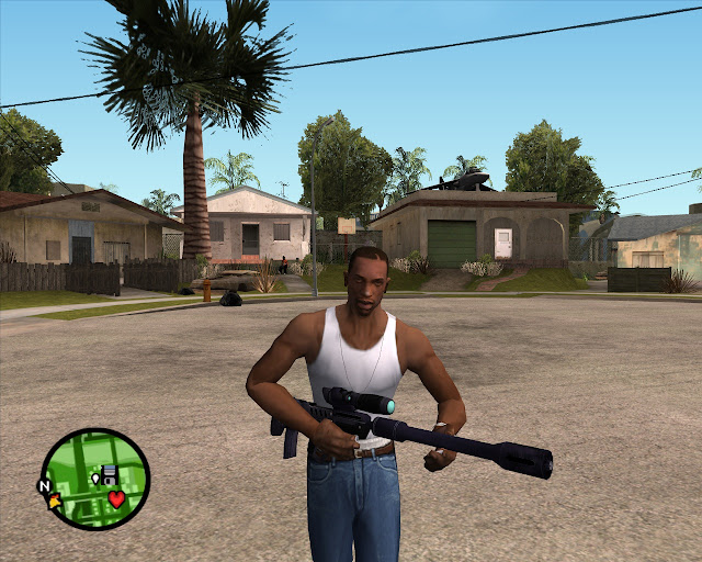 Gta San Andreas Nokia Lumia 520: Sniper Weapon Mod - Gta San Andreas