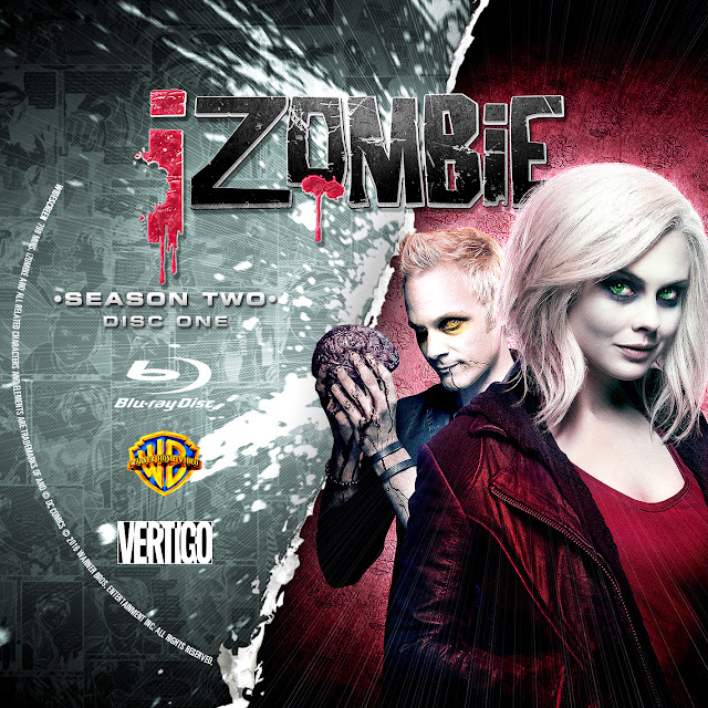 Label Bluray IZombie Segunda Temporada D1 a D5
