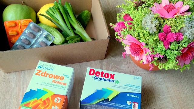 suplement diety zdrowe kolana gardenpharm