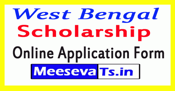 WB Scholarship Online Application Form