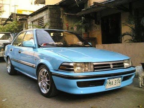 Modifikasi Toyota Corolla Twincam Warna Biru Muda