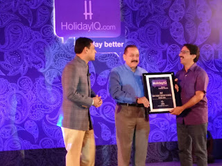 "Kerala Tourism Receives HolidayIQ Better Holiday Award for ""India's favorite Waterfront Destination"""