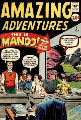 Amazing Adventures  #2, Manoo
