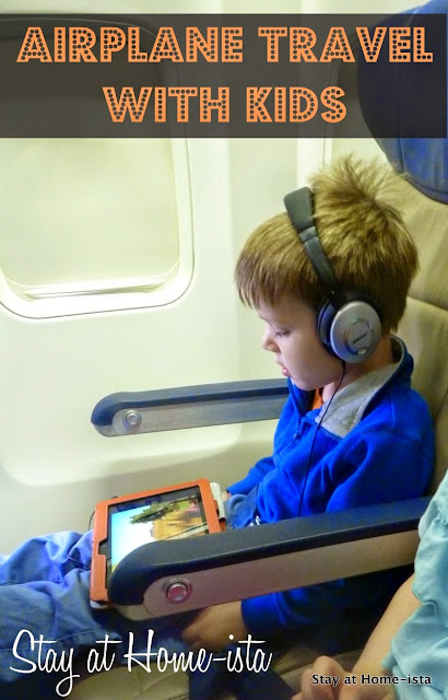 Stay at Home-ista: Air Travel with Kids