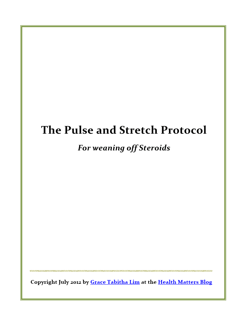 Health Matters: Pulse and Stretch Protocol for Weaning off