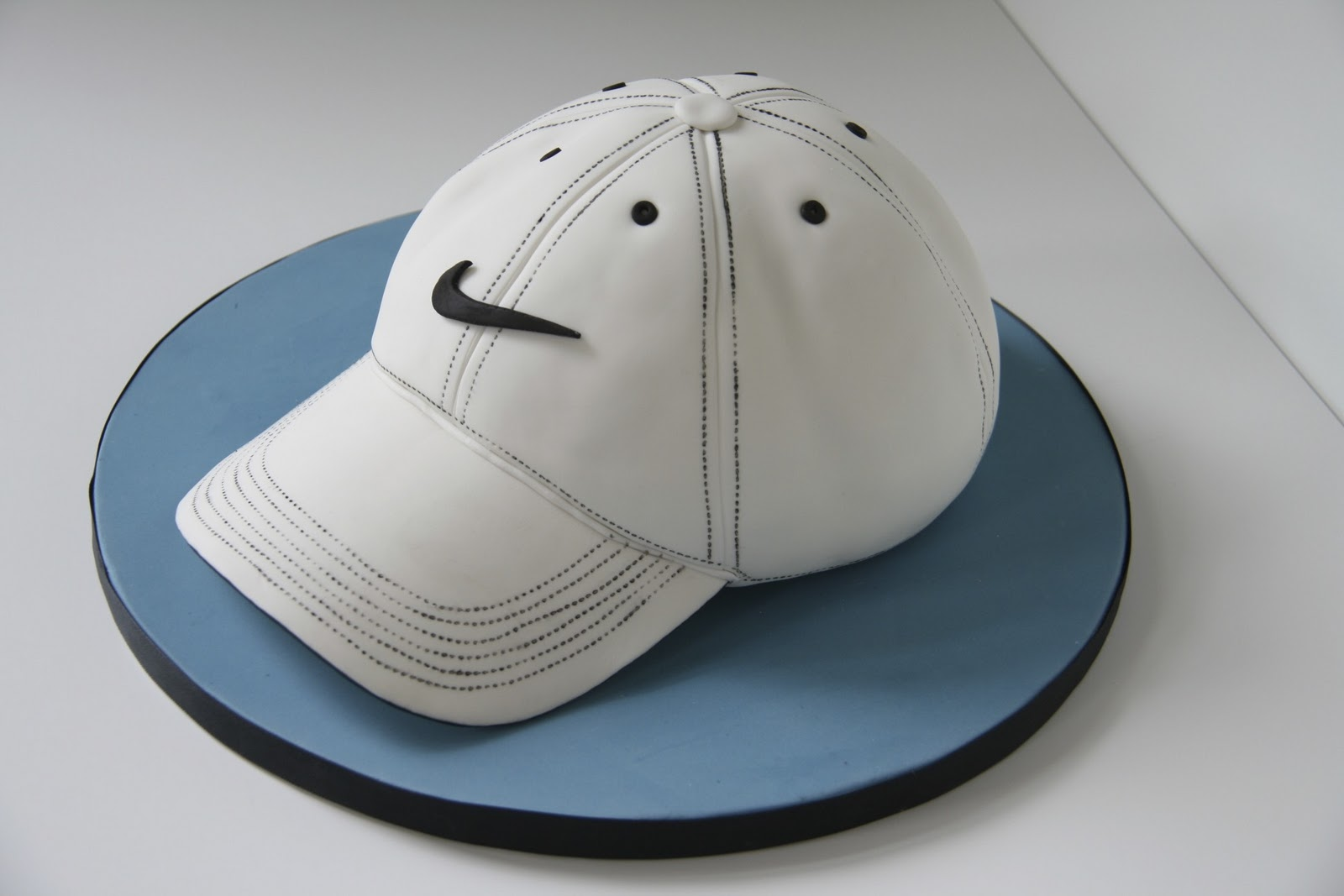 Sweet Cake Design Baseball Hat Cake
