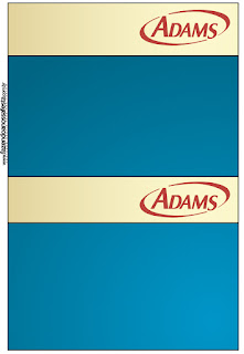 Golden and Blue: Free Printable Candy Bar Labels.