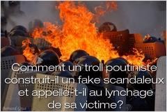 Harcèlement par le troll Laurent Courtois
