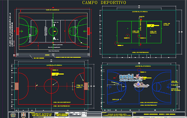 Study educational module in AutoCAD