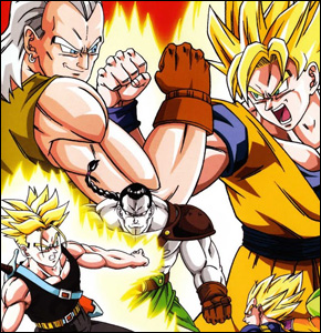 Dragon Ball Z Pelicula 07 -  -  La pelea de los 3 Saiyajin