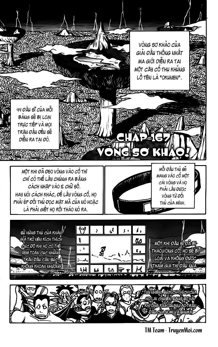 Hành trình của Uduchi chap 167: vòng sơ khảo! trang 1