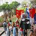 UNB » Protesto contra vandalismo - (Manifestantes caminharam pelo ICC em ato em defesa da democracia)