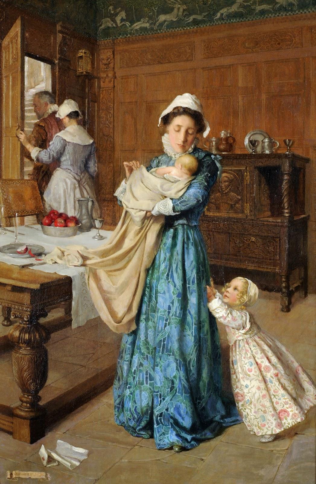 Victorian British Painting: William Oliver  Victorian Painting Portrait Artists