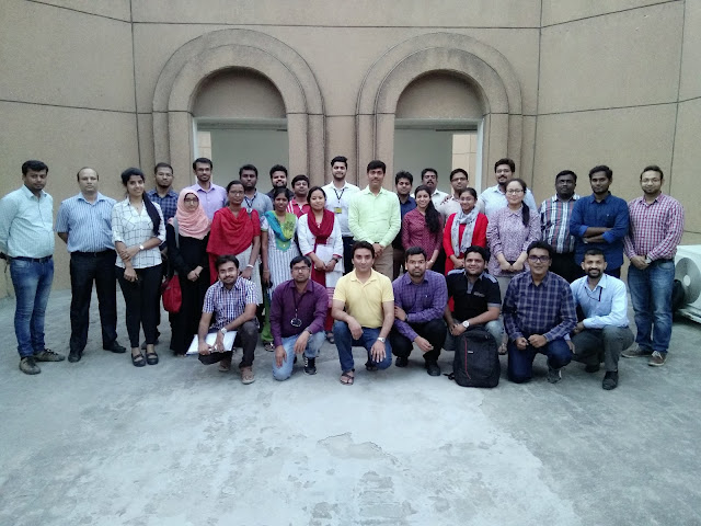 A group photo of the batch of Trainees taken at the close of training program