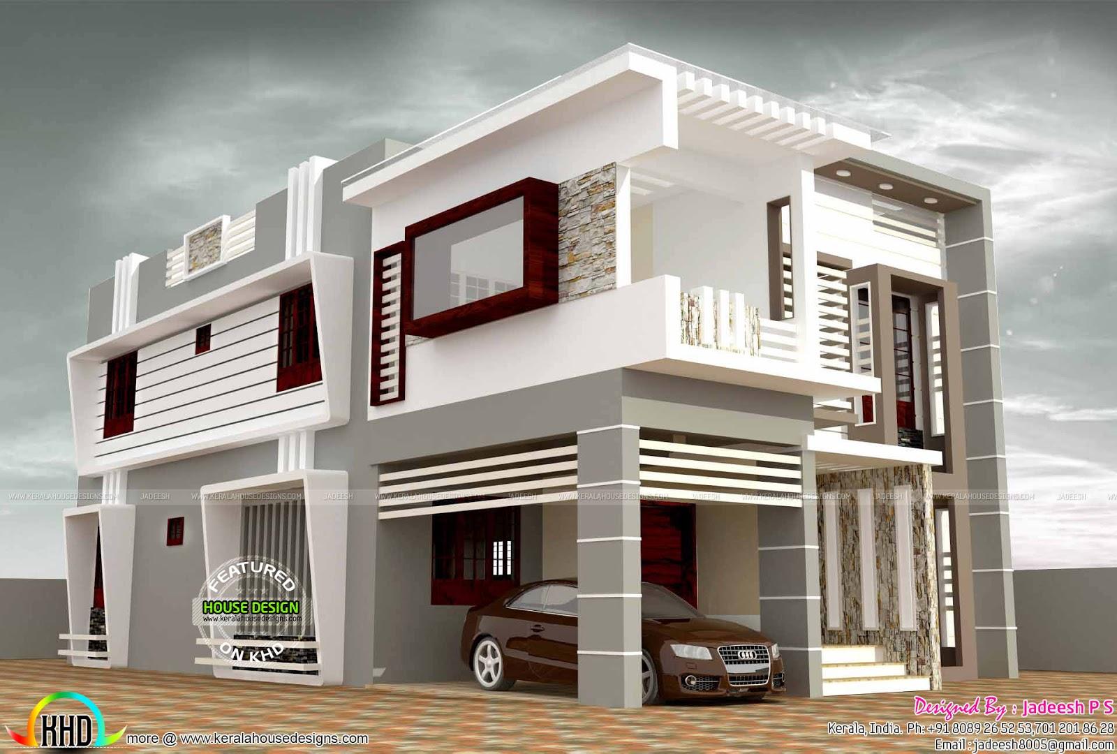 2794 square feet modern home plan Kerala home design Bloglovin