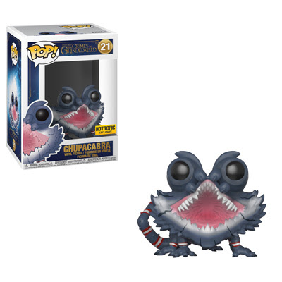 A Chupacabra Pop! is available as a Hot Topic exclusive.