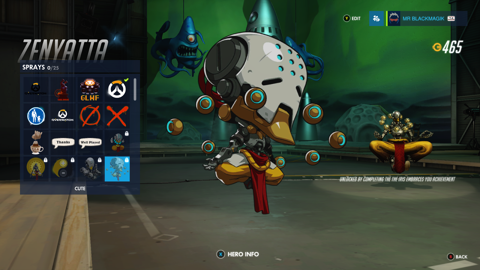 Unlock Every 'Cute' Spray in Overwatch - DRM Gamecast