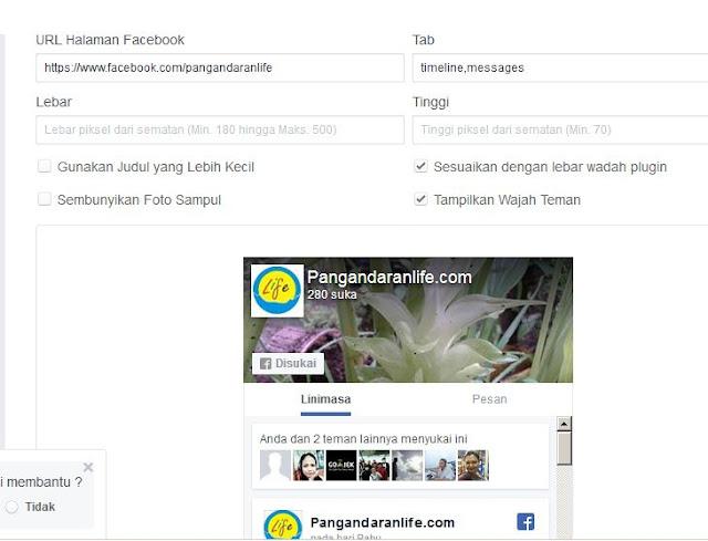 Menambahkan Beberapa Tab Didalam Halaman Facebook Yang Ditampilkan di Blog
