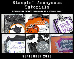 SEPTEMBER STAMPIN'ANONYMOUS TUTORIALS