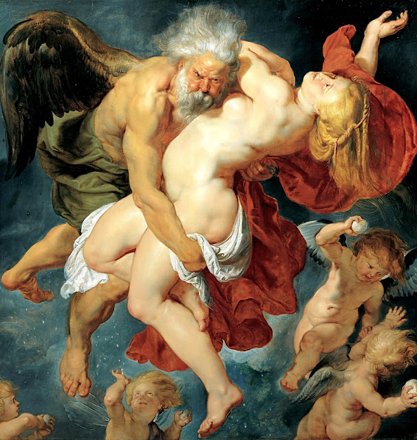 Pieter Paul Rubens - Borea rapisce Orizia - sex art