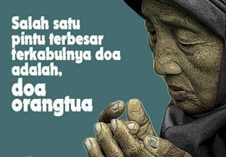 Doa Orang Tua Pada Anak