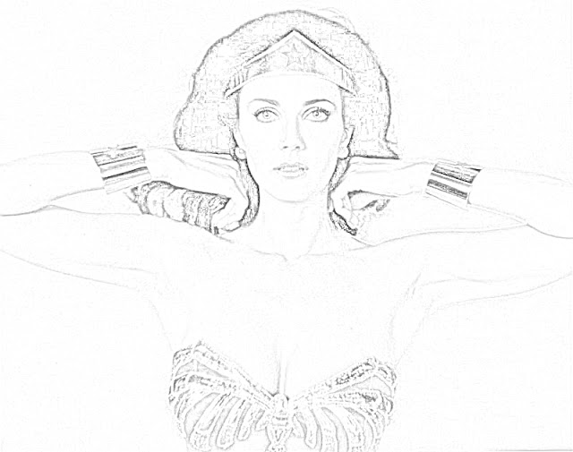 Coloring Pages Wonder Woman Coloring Pages