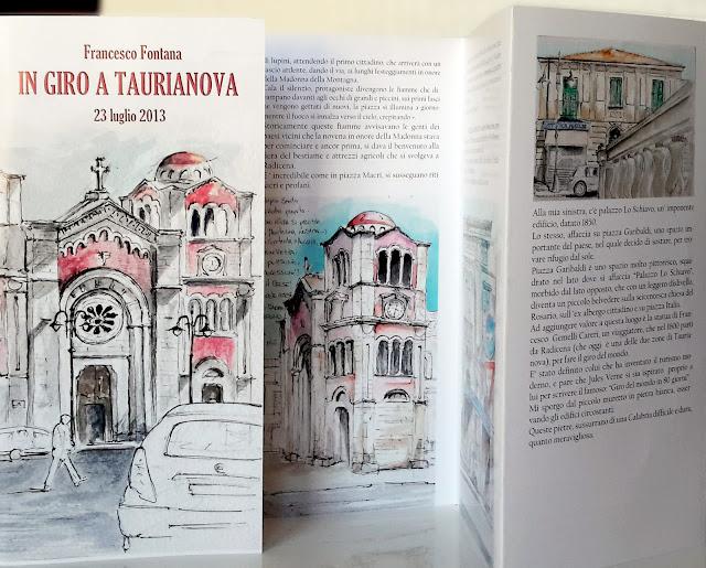 Viaggi, fontana, blog, sketch, Taccuino