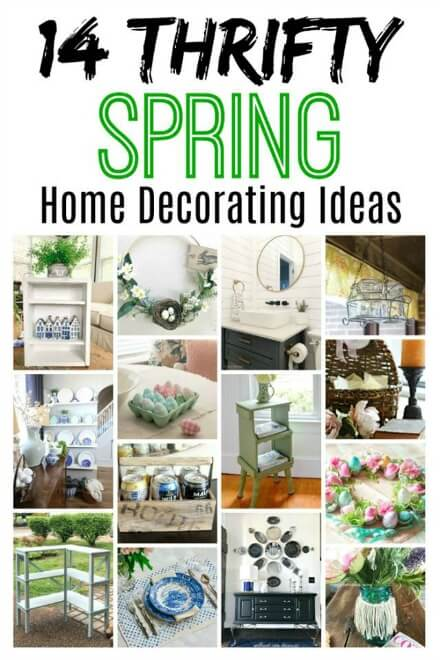 Fourteen thrifty spring ideas
