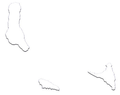 image: Blank white Comoros Islands Map