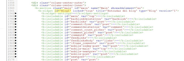 Agregar código botones oficiales de las redes sociales