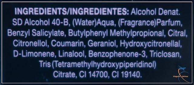 Ingredientes Perfume Paris Et Moi, da Jafra Cosméticos