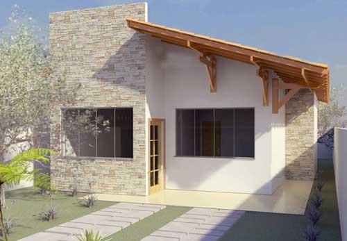 rumah minimalis sederhana 1 lantai elegan