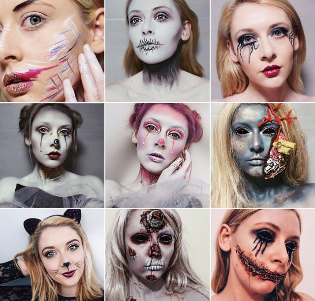 Halloween make up looks
