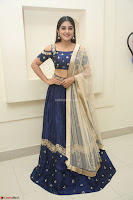 Niveda Thomas in Lovely Blue Cold Shoulder Ghagra Choli Transparent Chunni ~  Exclusive Celebrities Galleries 043.JPG