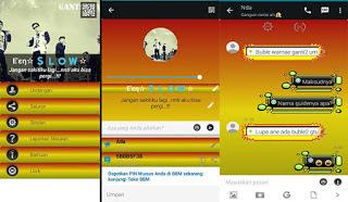 BBM Mod Middle Color v 2.11.0.18 apk