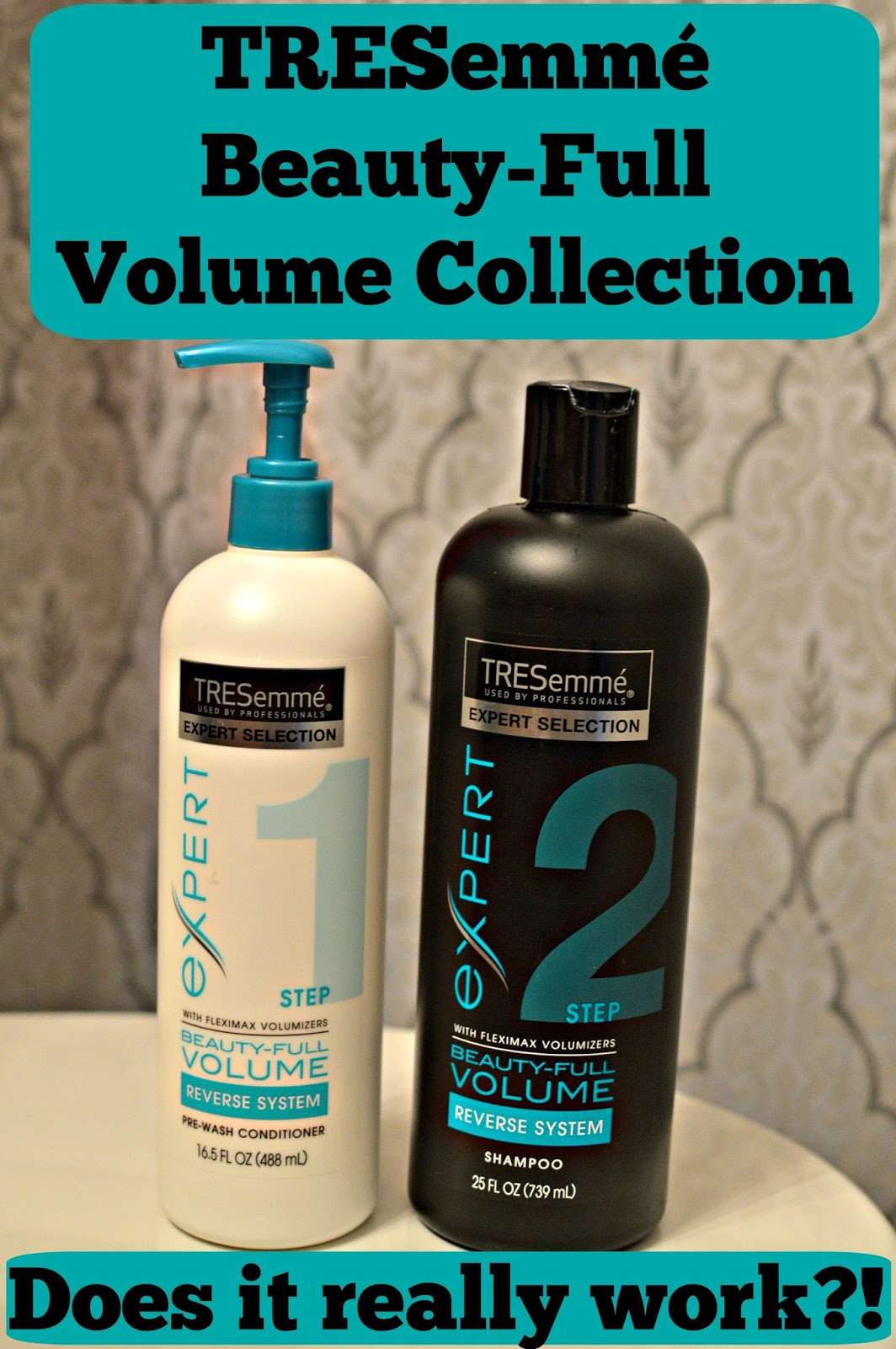 TRESemmé Beauty-Full Volume Line Review: Does the TRESemmé Beauty-Full Volume Line actually work?
