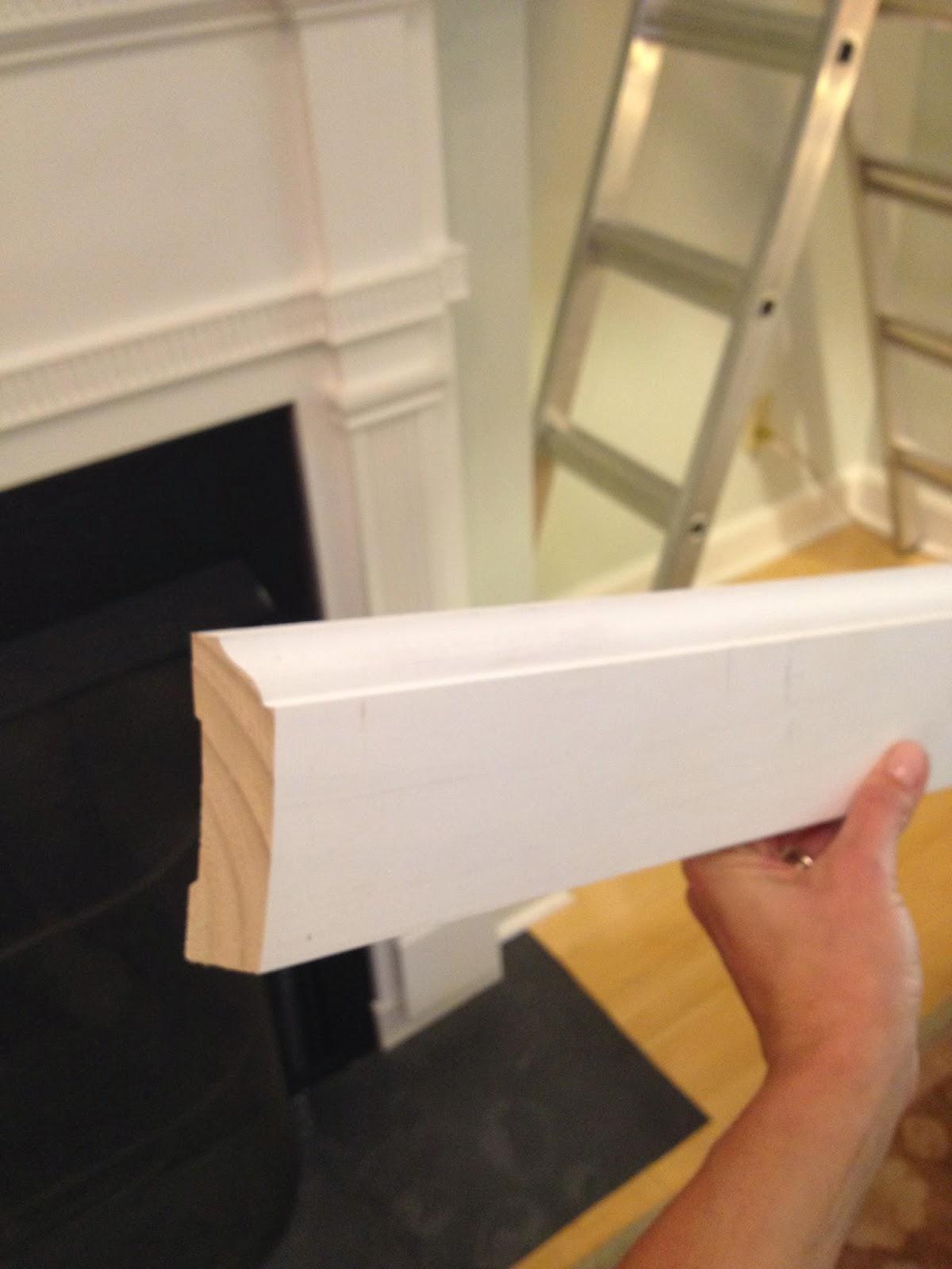 Mel Amp Liza Living Room Diy Crown Molding Before Amp After