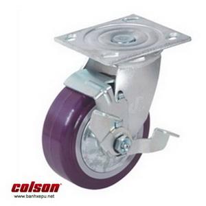 Bánh xe đẩy nhựa PU 200 chịu tải trọng cao 370kg | S4-8209-925P-B3