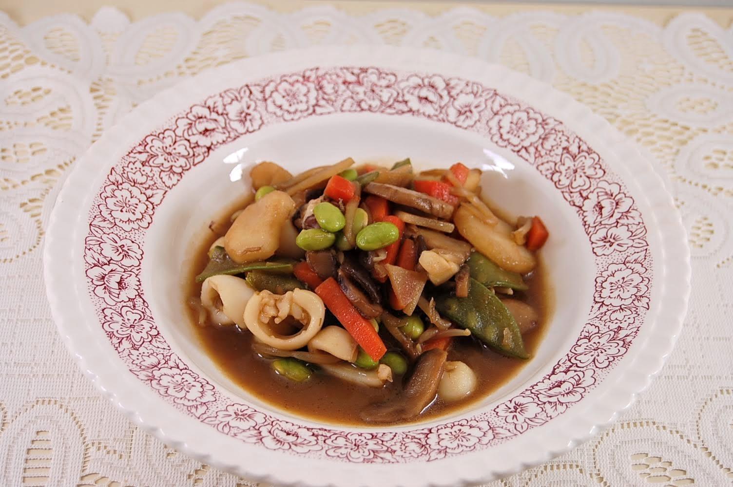Rezept Wok Gemüse wie beim Chinesen