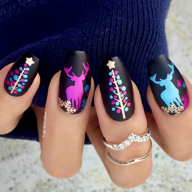 Chirstmas-nail-arts