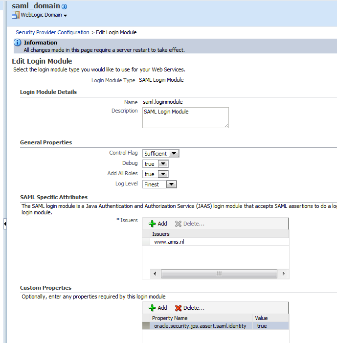 Java / Oracle SOA blog: Do SAML with OWSM