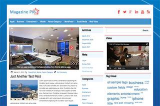MagazinePro Wordpress & Blogger Theme