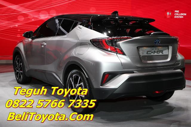 Toyota C-HR Resmi Meluncur di Indonesia Awal 2018