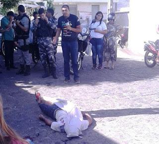 Jovem é morto a tiros perto de terminal rodoviário de Guarabira
