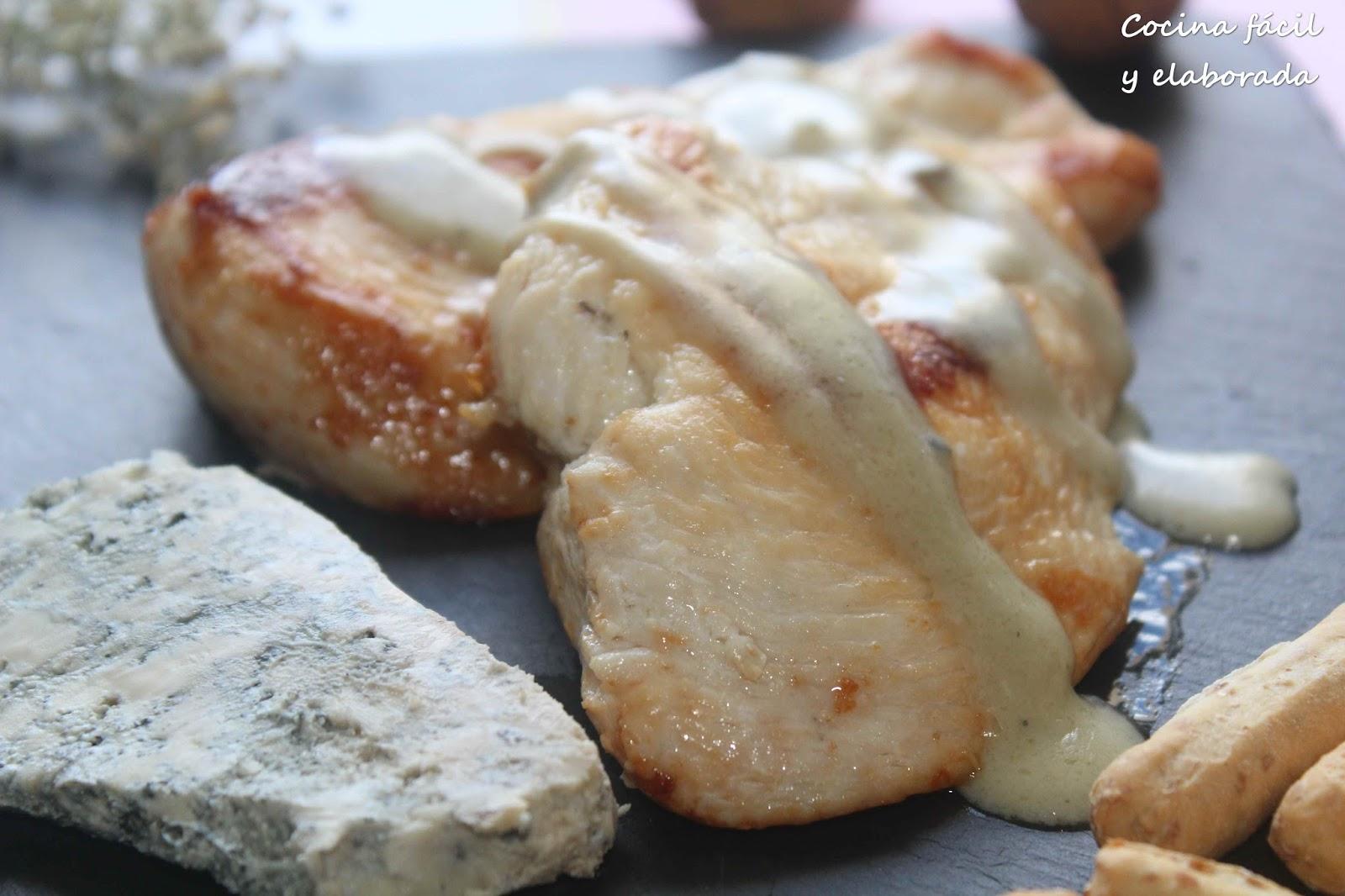 Cocina facil y elaborada pechuga de pollo en salsa de - Pechuga d pollo en salsa ...
