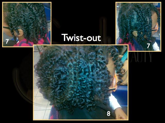 Twist-Out en pelo afro